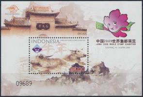 Chinese New Year : Year of the Ox block Kínai újév: Ökör blokk