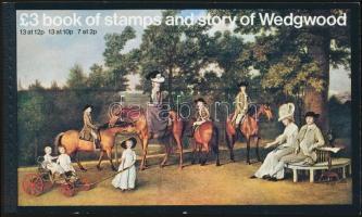 II. Erzsébet királynő, Wedgwood bélyegfüzet, Elizabeth II., Wedgwood stamp-booklet