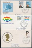 4 klf FDC, 4 FDC