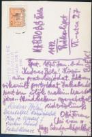 1975 Ottó Ferenc (1904-1976): zeneszerző saját kézzel írt képeslapja Kardoss Béla írónak