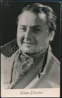 Pásztor Lajos operaénekes saját kézzel írt képeslapja