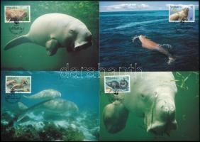 WWF Dugong set 4 CM WWF: Dugong sor 4 db CM-en