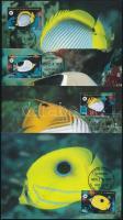 WWF Butterfly Fish set 4 CM, WWF Pillangóhalak sor 4 db CM-en