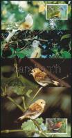 WWF Rare birds set on 4 CM WWF Ritka madarak sor 4 CM-en