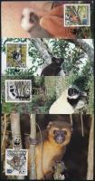 WWF: Lemurs set on 4 CM, WWF: Lemúrok sor 4 db CM-en