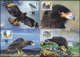WWF Eagle set on 4 CM WWF: Tűzföldi karakara sor 4 CM