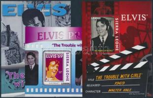 Elvis blockset (Mi 643 missing) Elvis blokksor (Mi 643 hiányzik)