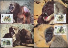 WWF Monkies set 4 CM, WWF: Majmok sor 4 db CM-en