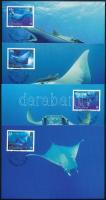 WWF Giant ray set on 4 CM WWF: Óriás rája sor 4 db CM
