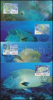 2006 WWF: Napóleon hal sor 4 CM Mi 1034-1037