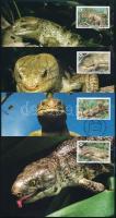 WWF Reptiles set 4 CM WWF hüllők sor 4 CM