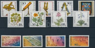 3 sets + 1 stamp 3 klf sor + 1 önálló érték