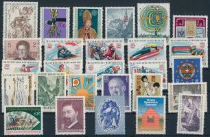 27 stamp (2 sets between), 27 klf bélyeg, közte 2 sor