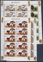 Mushroom mini sheet set, Gombák kisívsor