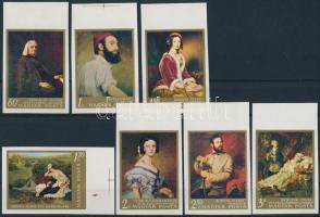 1967 Festmények (II.) vágott ívszéli sor (3.000)