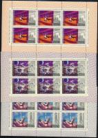 Space Research mini sheet set, Űrkutatás kisívsor