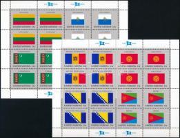 1999 Zászló kisívsor Mi 4797-804