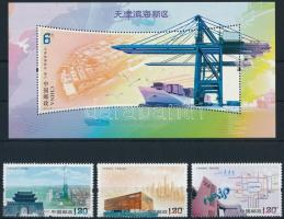 Területfejlesztés; Binhai sor + blokk, Regional development; Binhai set + block
