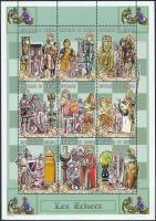 Crusades mini sheet, Keresztes hadjáratok kisív