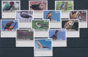 Birds set, 12 values, Madarak sor, 12 érték