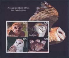 Owls block, Baglyok blokk