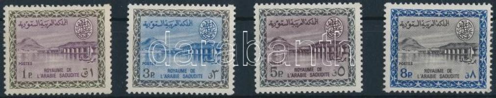 1965/1972 Wadi Hanifa 4 érték Mi 215, 217, 219, 222