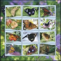 Butterfly minisheet, Lepkék kisív
