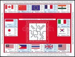 2012 Csendes-óceáni szigetek konferenciája, Zászlók 2 kisív Mi 1805-1834