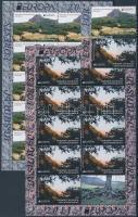 2012 Europa CEPT Erdők sor + kisívpár Mi 69-70