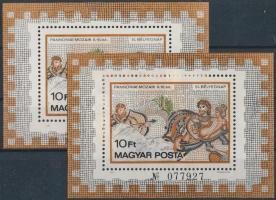 1978 2 db Pannona1 blokk (16.000)