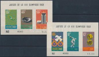 Olympics block pair, Olimpia blokkpár