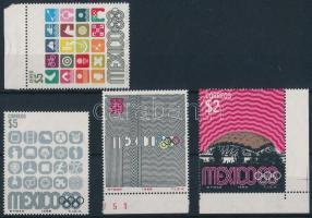 Olympics 4 diff stamp, Olimpia 4 klf bélyeg
