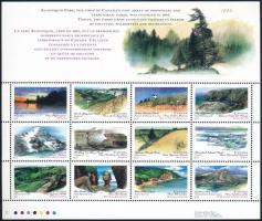 Nature protection minisheet, Természetvédelem kisív