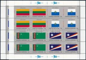 1999 Zászló kisívsor Mi 797-804