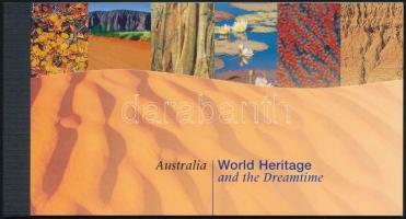 UNESCO Australia stamp-booklet UNESCO világörökség: Ausztrália bélyegfüzet