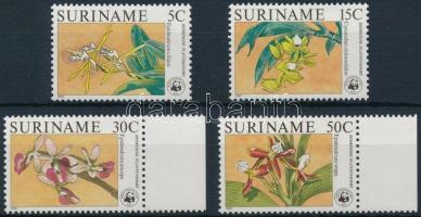 1986 Orchideák sor Mi 1166-1169