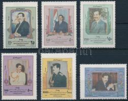Saddam Hussein set, Saddam Hussein sor