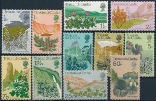 Növényvilág sor záróérték nélkül Flora set without closing value