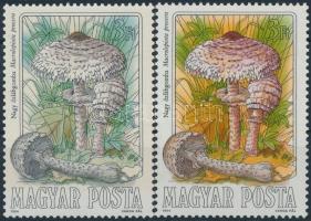 1984 Gombák 3Ft erős színeltérés (!?) + támpéldány