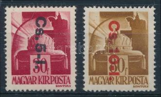 1946 Betűs visszavont csomagpár (16.000)