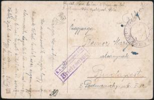 "Postcard ""K.u.k. Marinespital Pola / Briefzensur"", Képeslap ""K.u.k. Marinespital Pola / Briefzensur"""