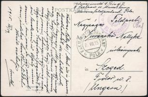 """Postcard """"K.u.k. Matrosenkorps III. Seebatallion"""", Képeslap """"K.u.k. Matrosenkorps III. Seebatallion"""""""