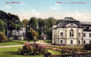 Bad Nenndorf mud bath house, Bad Nenndorf iszapfürdő ház