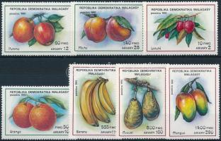 Fruits set, Gyümölcsök sor