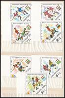 1982 Labdarúgó VB (IV.) vágott ívszéli sor