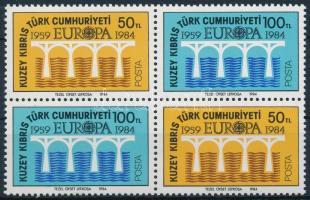 Europa CEPT block of 4, Europa CEPT négyestömb