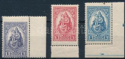 1926 Keskeny Madonna ívszéli sor (22.000)