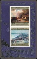 1976 Festmények (XV.) vágott blokk