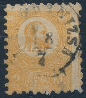 1871 Kőnyomat 2Kr (papírelvékonyodás) (22.000)