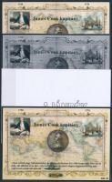 2014/04 James Cook 4 db-os emlékív garnitúra (28.000)